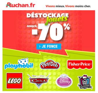 Auchan promos jouets Promo110