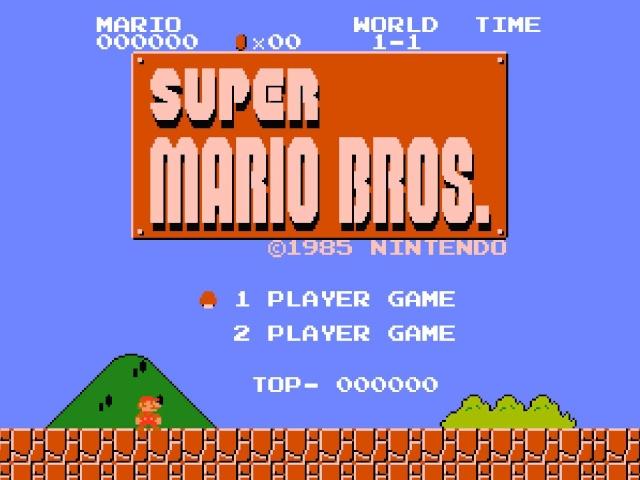Super Mario Bros. High Score Challenge Super-10