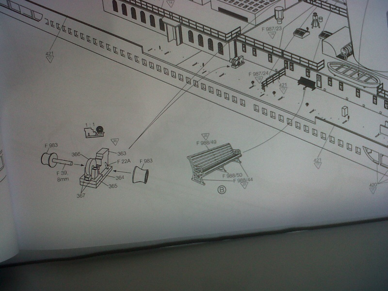 TITANIC 1:144 di BILLING BOATS  -  manuale Foto_710