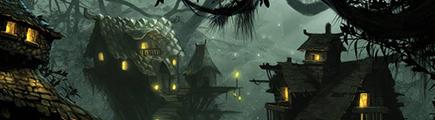 Bhintel, Ville des Elfes Noirs