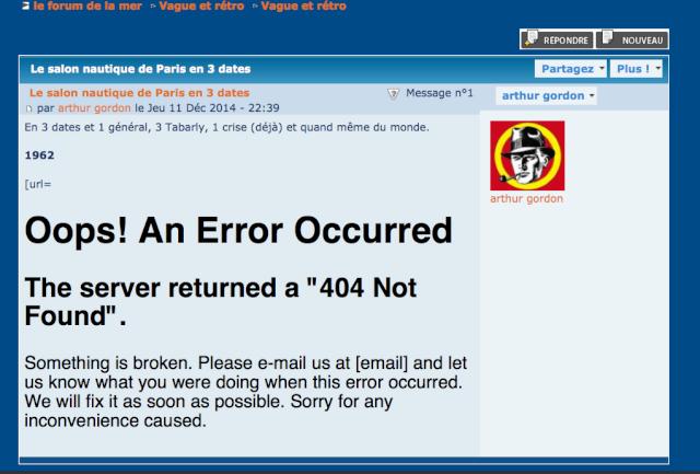 impossible modifier message suite erreur 404 Image_60