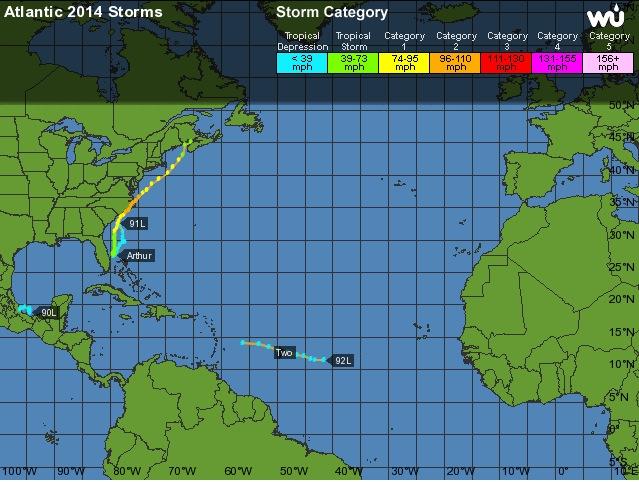 Le retour d'El Niño cet été ? 2014a-10