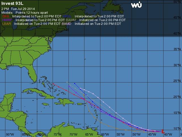 Le retour d'El Niño cet été ? 93l10