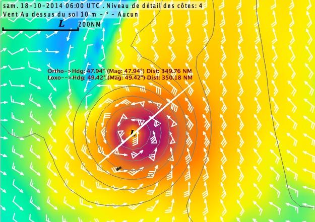 Cyclone GONZALO sur les îles du Nord des Antilles Captur18