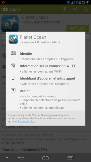 Planète océan on line Screen10