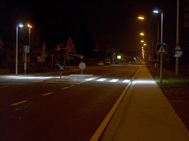 L'éclairage des passages piétons Ans_6510
