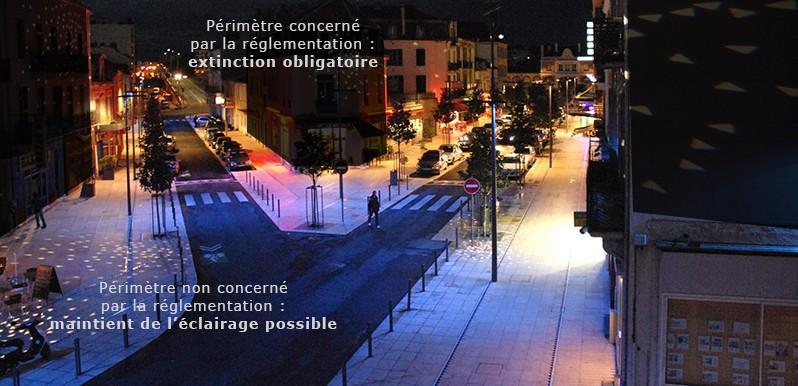 Arrêté du 25 janvier 2013 relatif à l'éclairage nocturne des bâtiments non résidentiels Les_ec11
