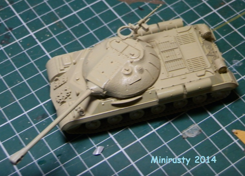 Char Egyptien IS-3 (1/72 Trumpeter) P7070210