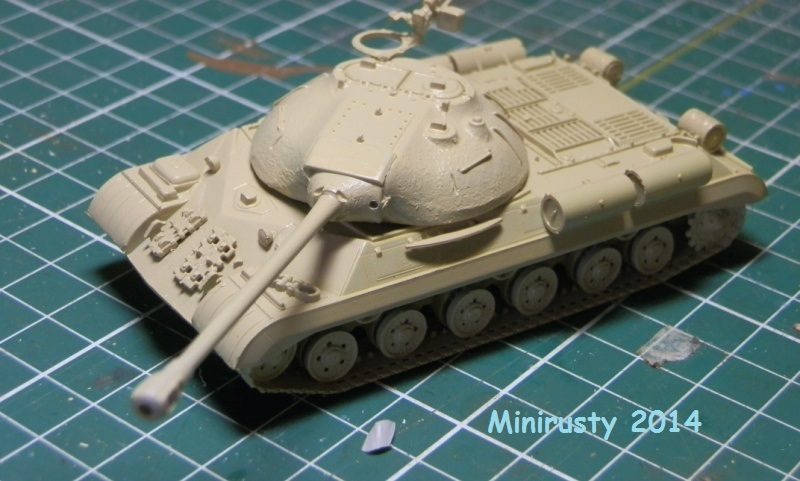 Char Egyptien IS-3 (1/72 Trumpeter) P7070211