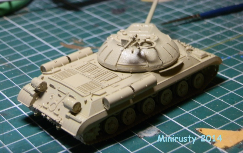 Char Egyptien IS-3 (1/72 Trumpeter) P7070212