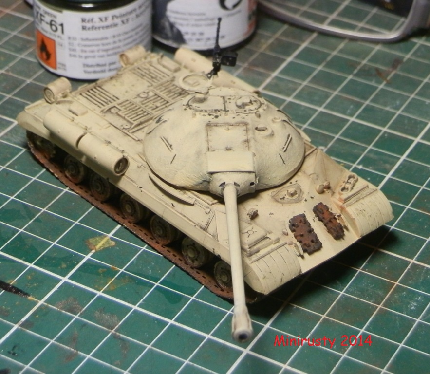 Char Egyptien IS-3 (1/72 Trumpeter) P7190210