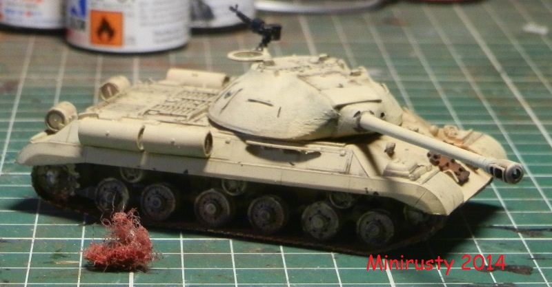 Char Egyptien IS-3 (1/72 Trumpeter) P7190214