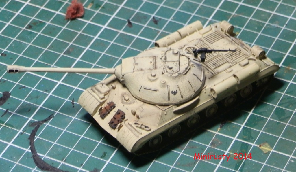 Char Egyptien IS-3 (1/72 Trumpeter) P7190215