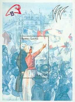 Marie-Antoinette, la Famille Royale et la Révolution en timbres-postes 1231-b10