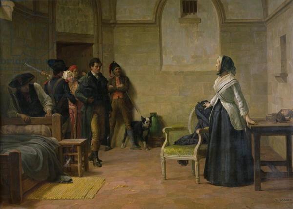 La Conciergerie : Marie-Antoinette dans sa cellule. - Page 3 14958010