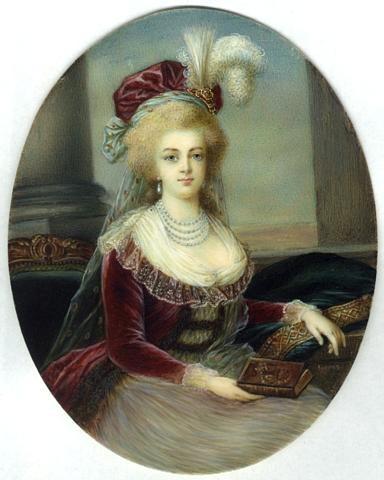 Marie Antoinette, portraits d'après Elisabeth Vigée Lebrun  - Page 2 1788-m10