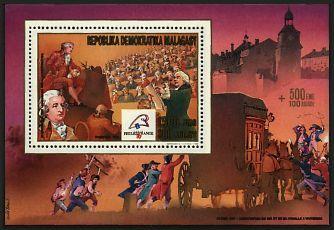Marie-Antoinette, la Famille Royale et la Révolution en timbres-postes 199510