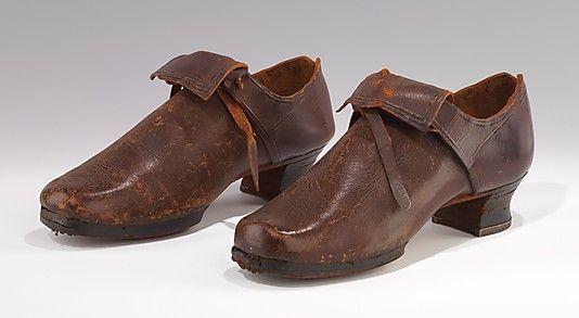 Les chaussures du XVIIIe siècle B9ebe610