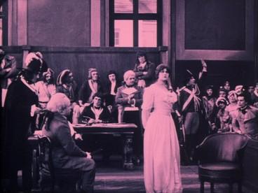 Le chevalier de Maison Rouge avec Lea Piron par Albert Capellani - 1913 Critiq13
