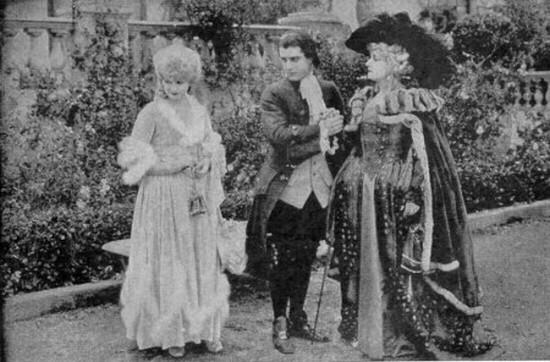 Scaramouche (Clotilde Delano) de Rex Ingram (1923) Delano10