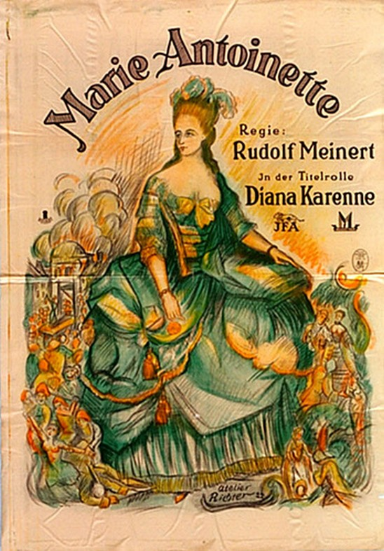 Marie-Antoinette - Das Leben einer Königin (Diane Karenne) par Rudolf Meinert (1922) Diane10