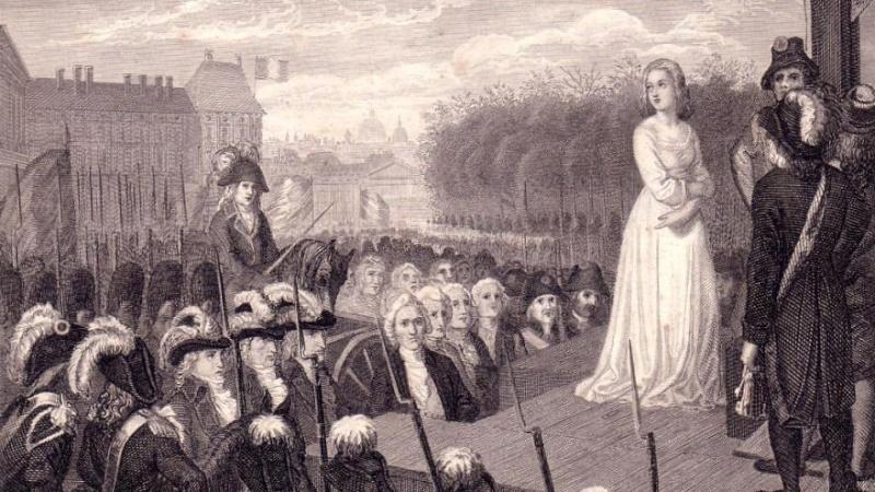 On se souvient de Marie-Antoinette partout dans le monde. Execut10