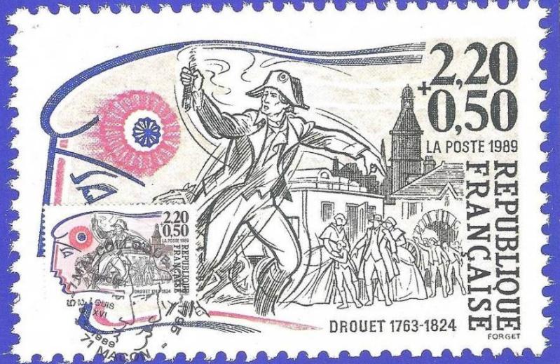Marie-Antoinette, la Famille Royale et la Révolution en timbres-postes France10