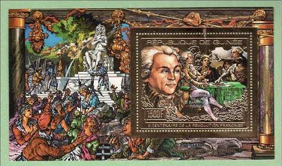 Marie-Antoinette, la Famille Royale et la Révolution en timbres-postes Guinee12