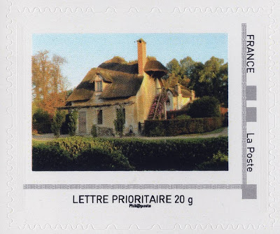 Marie-Antoinette, la Famille Royale et la Révolution en timbres-postes Hameau10