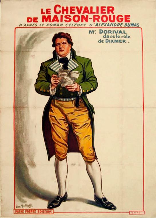 Le chevalier de Maison Rouge avec Lea Piron par Albert Capellani - 1913 Le-che10