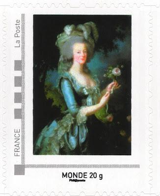 Marie-Antoinette, la Famille Royale et la Révolution en timbres-postes Marie_12