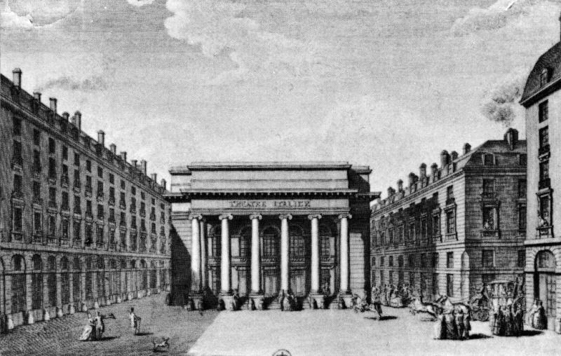 L'Opéra-Comique inauguré par Marie Antoinette Opera-10