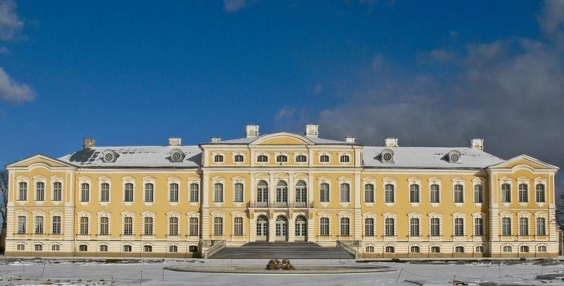 Le Palais de Rundale, le Versailles letton Rundal10