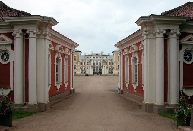 Le Palais de Rundale, le Versailles letton Rundal11
