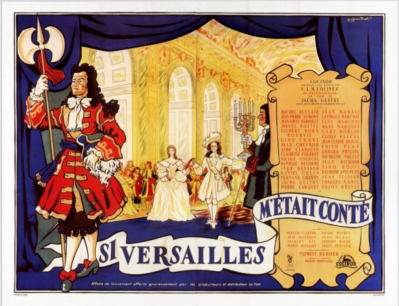 Si Versailles m'était conté (Lana Marconi), réalisé par Sacha Guitry en 1953 Si-ver10