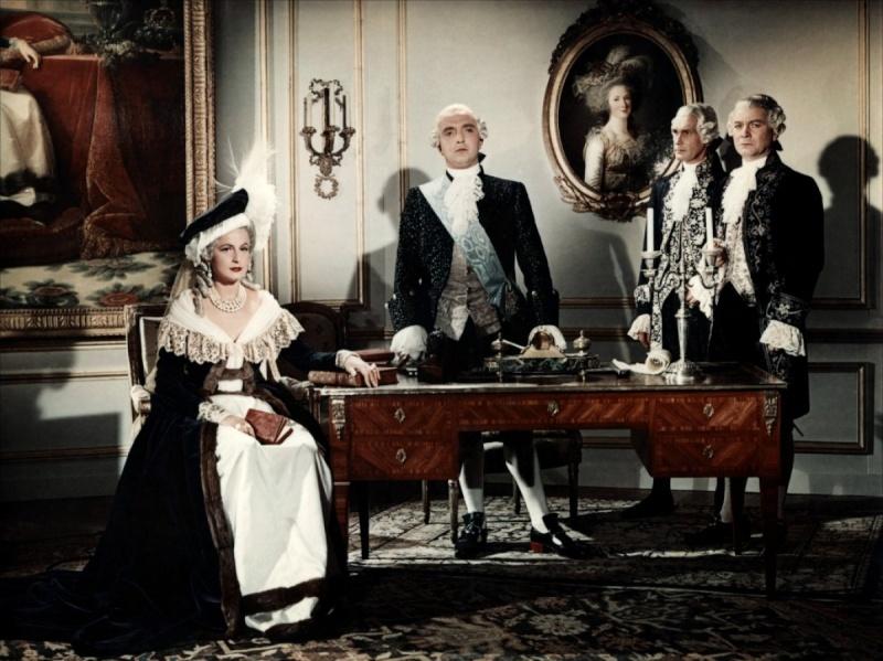 Si Versailles m'était conté (Lana Marconi), réalisé par Sacha Guitry en 1953 - Page 2 Si-ver13