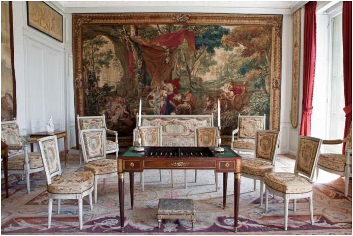 la villa Ephrussi de Rothschild - Page 4 Tapiss10