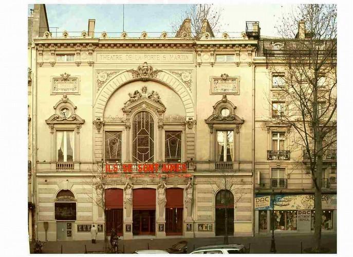 Le Théâtre de la Porte-Saint-Martin Theatr10