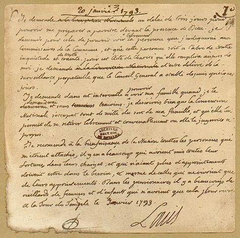 Correspondance et écrits du Roi Louis XVI - Page 7 Zant12