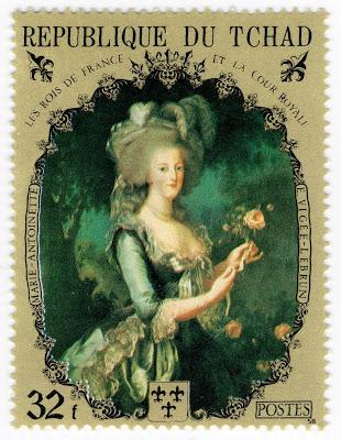 Marie-Antoinette, la Famille Royale et la Révolution en timbres-postes Zantoi10