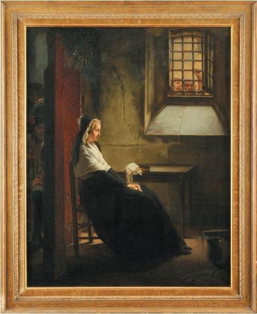 La Conciergerie : Marie-Antoinette dans sa cellule. - Page 3 Zconc10