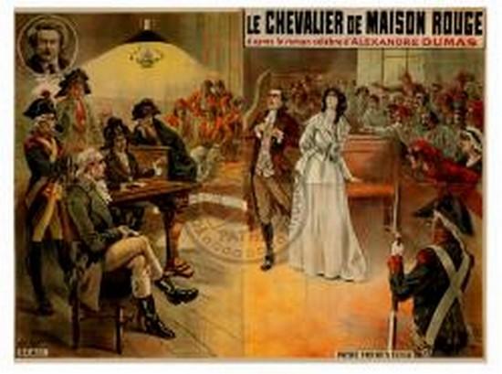 Le chevalier de Maison Rouge avec Lea Piron par Albert Capellani - 1913 Zmais10