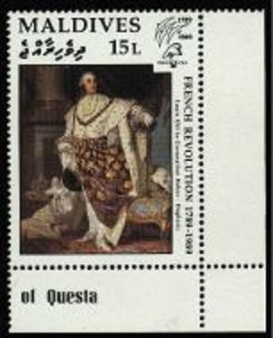 Marie-Antoinette, la Famille Royale et la Révolution en timbres-postes Zmaldi10