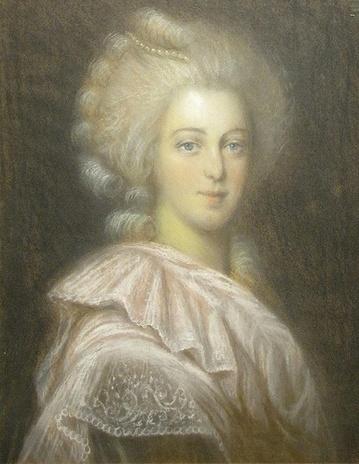 Le premier portrait de Marie Antoinette peint par Vigée Lebrun? - Page 3 Zportr10