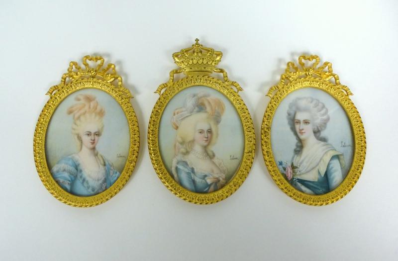 A vendre: miniatures de Marie Antoinette et de ses proches - Page 3 Ztri14