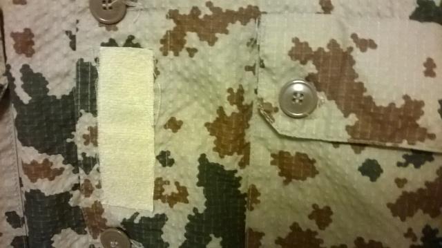 K04 desert uniform jacket Wp_20149