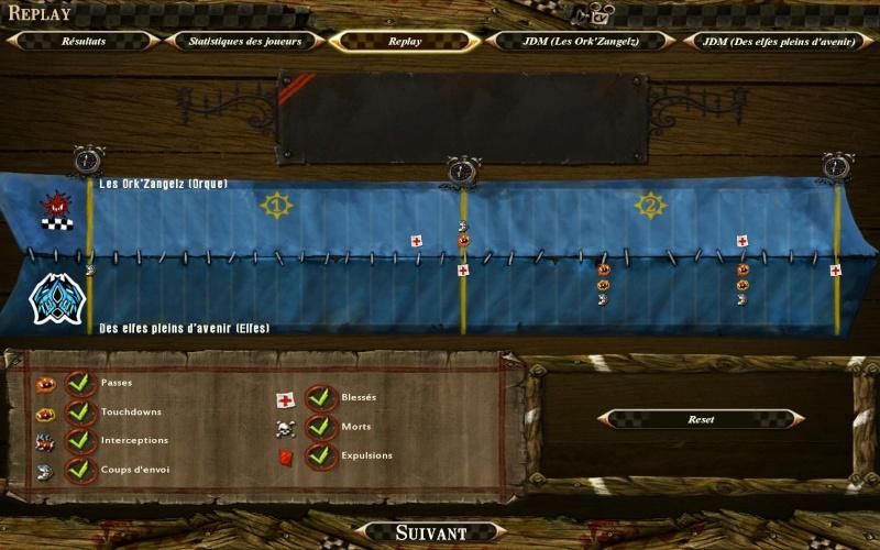Des elfes pleins d'avenir (Ecklir) 2 - 0 Les ork'zangelz (Gally099) Bloodb24