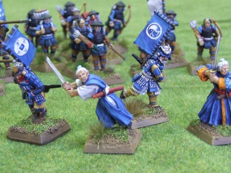 Figurines du clan de la Grue Dscf0811