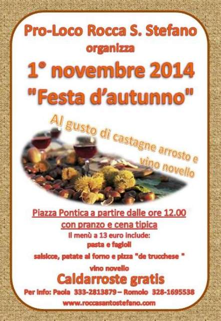 caldarroste - Festa d'Autunno - Al gusto di caldarroste e vino novello Piccol10