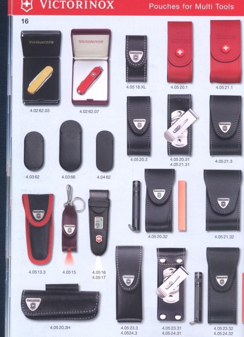 Pochettes/étuis des couteaux suisses Etuis_10